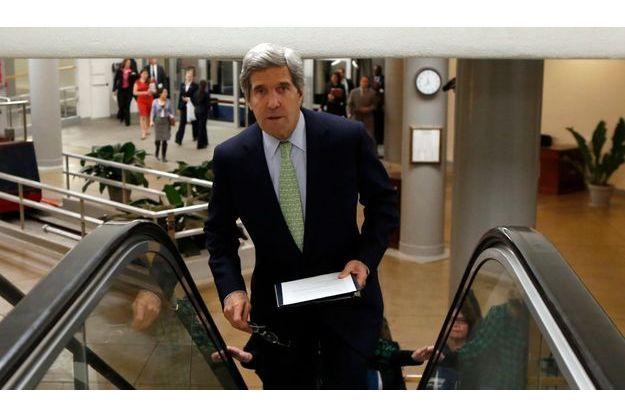 John Kerry, le 13 décembre, au Capitol.