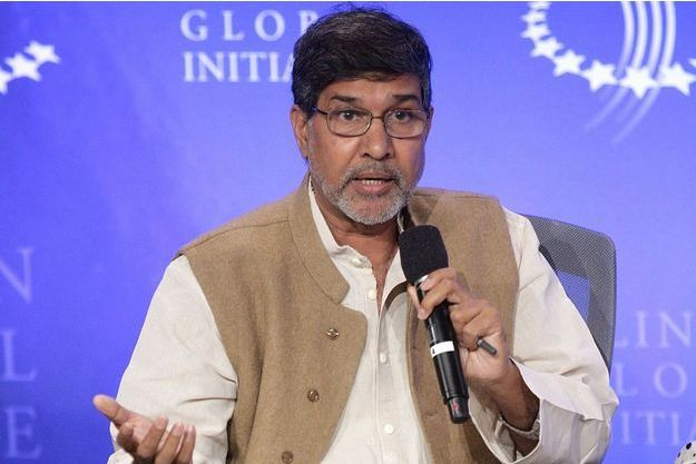 Kailash Satyarthi lors d'une session de la Clinton Global Initiative à New York, en septembre 2009.