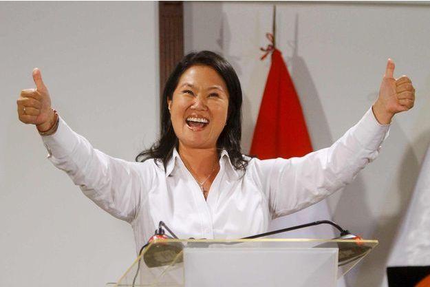 Keiko Fujimori a largement remporté le premier tour de la présidentielle au Pérou.