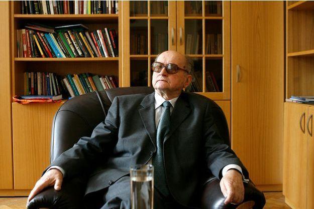 Le général Wojciech Jaruzelski en 2008