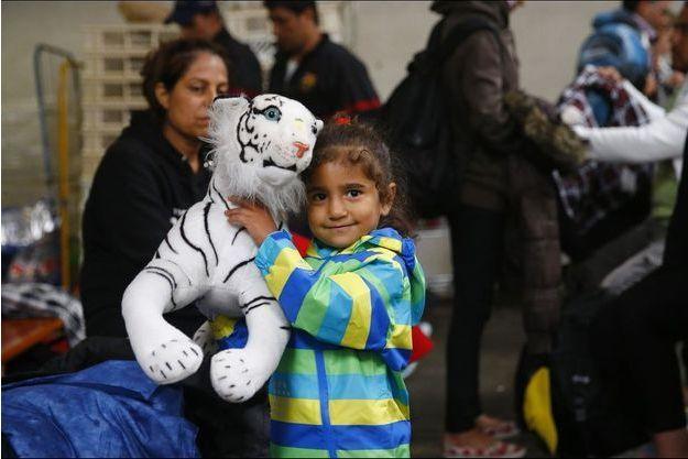 L'accueil des migrants en Allemagne, à la gare de Munich.