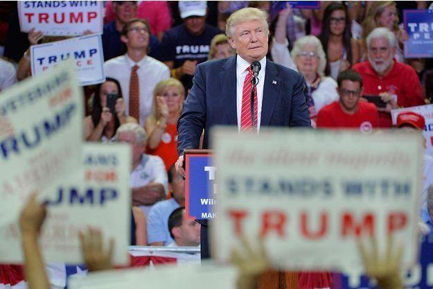 Donald Trump mardi à Wilmington en Caroline du Nord.