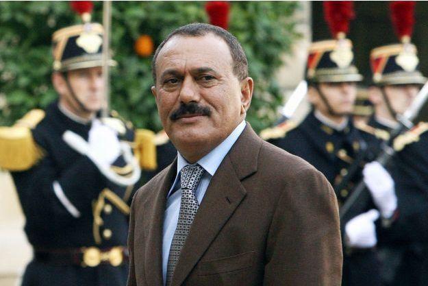 Ali Abdullah Saleh le 18 novembre 2006 à Paris