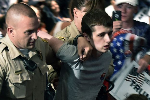 Michael Sandford a été arrêté le 18 juin à Las Vegas.