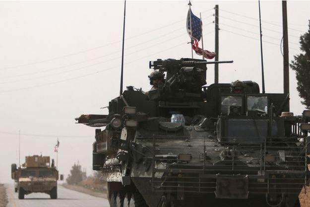 L'armée américaine à Manbij, en Syrie.