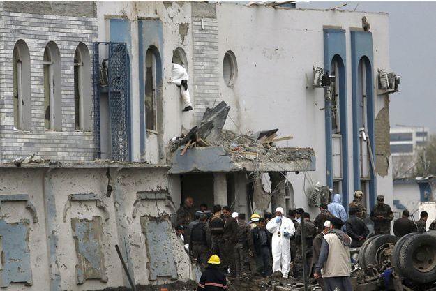 L'attentat commis à Kaboul par les talibans a fait 64 morts.