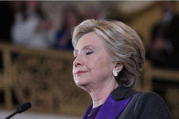 Hillary Clinton à New York, le 9 novembre.