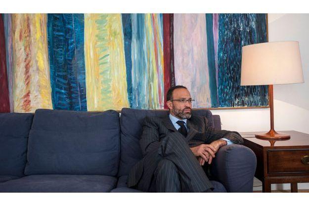 Agustin Acosta, l'avocat mexicain de Florence Cassez, dans son bureau le 22 janvier.