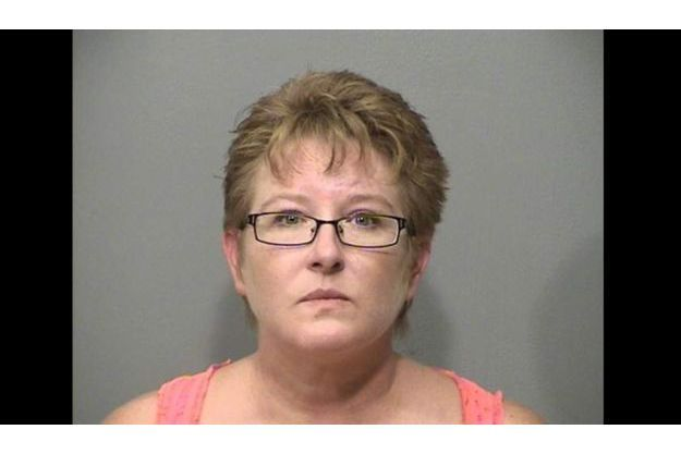 Lisa Biron, lors de la prise de sa photo d'identification en octobre dernier.