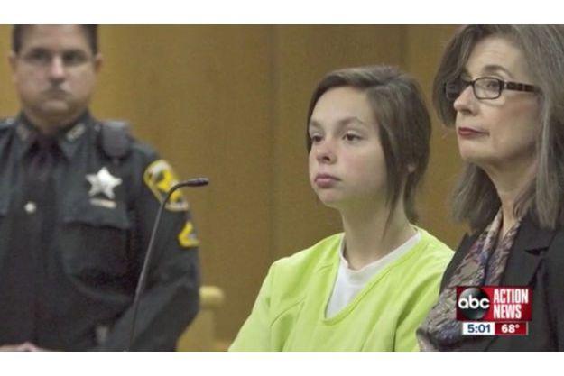 Cassidy Goodson devant le juge, vendredi dernier.