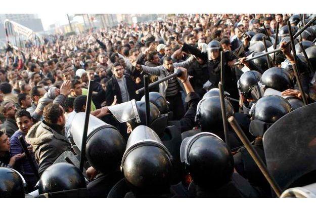 Mardi après-mdi, sur la plae Tahrir, au Caire.