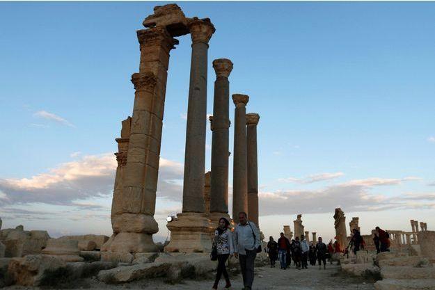 La cité antique de Palmyre a été reprise à Daech.