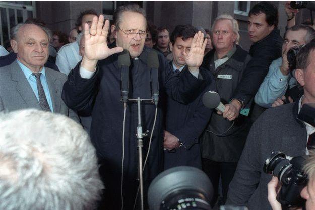 Günter Schabowski, le responsable est-allemand qui a précipité la chute du mur de Berlin