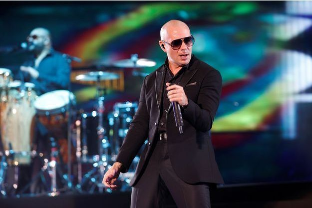 Le chanteur Pitbull, en mai 2016.