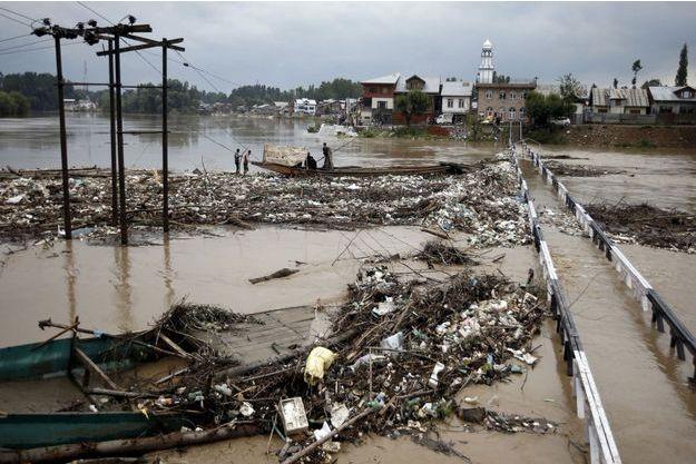 L'Inde sous les eaux de la mousson.