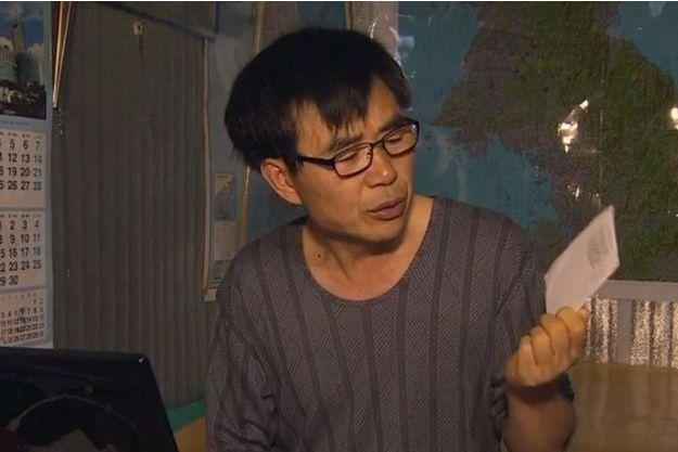 Lee Min-Bok, le militant fait face à la Corée du Nord.