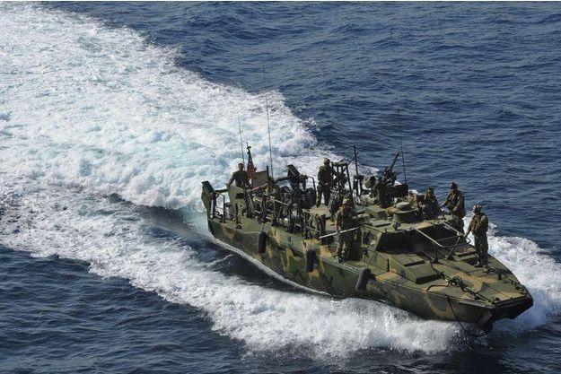 Photo fournie par l'US Navy, le 12 Janvier.