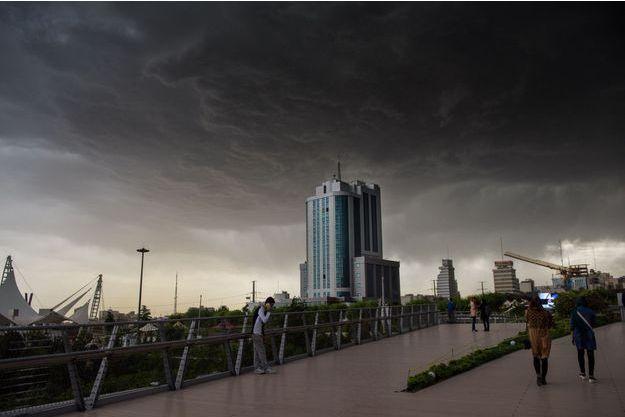Image d'illustration : Ville de Téhéran, Iran.