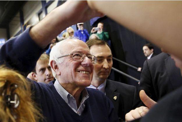Bernie Sanders à un meeting dans le New Hampshire, le 7 février 2016.
