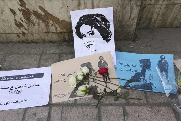 Shaimaa el-Sabbagh a été tuée le 24 janvier