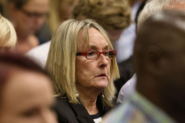June Steenkamp au procès.