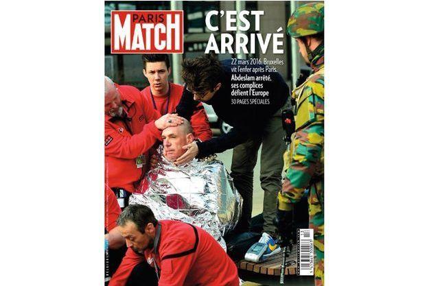 La Une de Paris Match Belgique