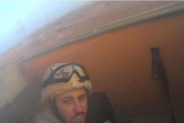 Un des combattant de Daech au front contre les Peshmerga.