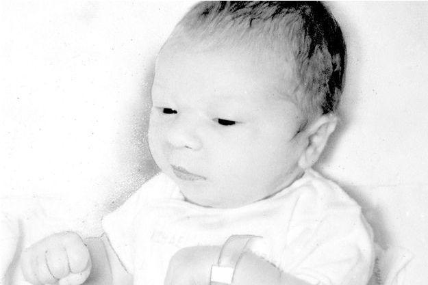 L'unique photo du petit Paul Fronczak, enlevé un jour après sa naissance à la maternité.