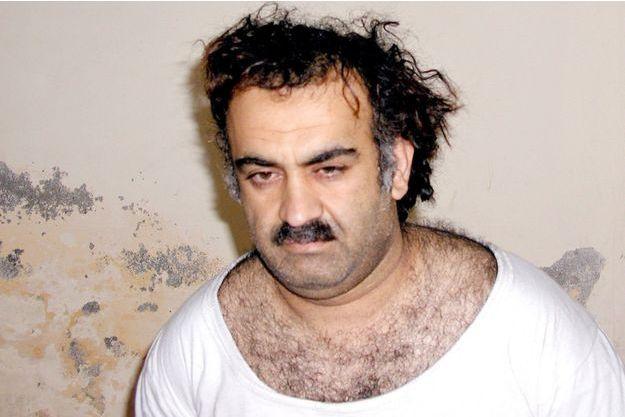 Khalid Sheikh Mohammed en 2003, peu après sa capture.