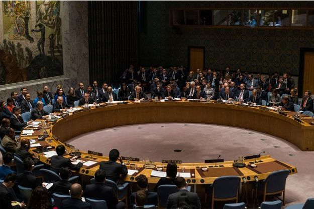 Conseil de sécurité de l'ONU, le 18 janvier 2018 à New-York