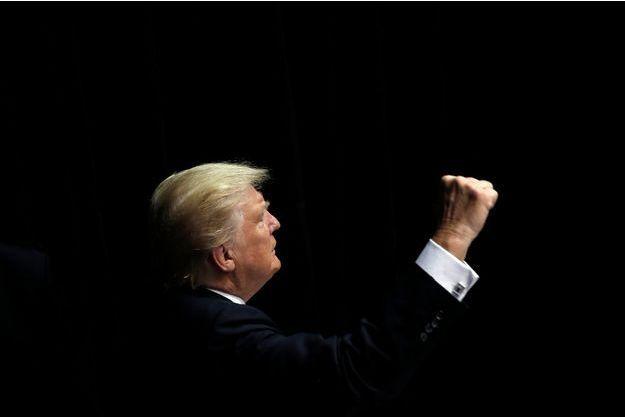 Donald Trump dans l'Iowa, le 13 septembre dernier.