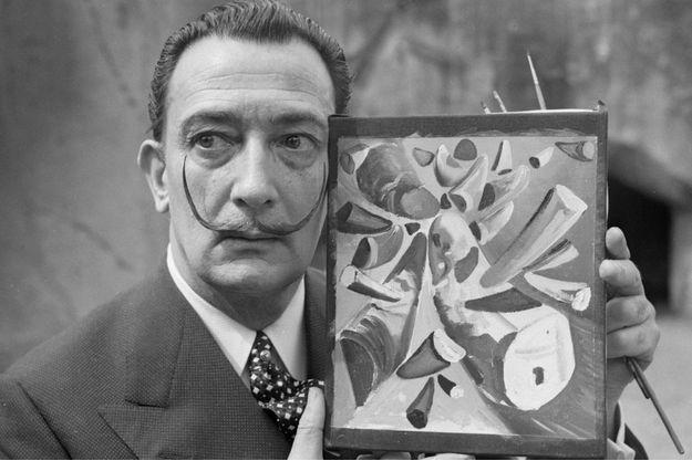 Salvador Dali en 1955.