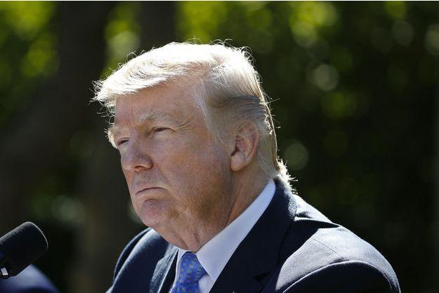 Donald Trump à la Maison Blanche, le 17 octobre 2017.