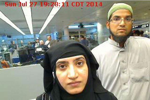 Tashfeen Malik et Syed Farook ont été tués dans une fusillade avec les policiers après l'attentat de San Bernardino.