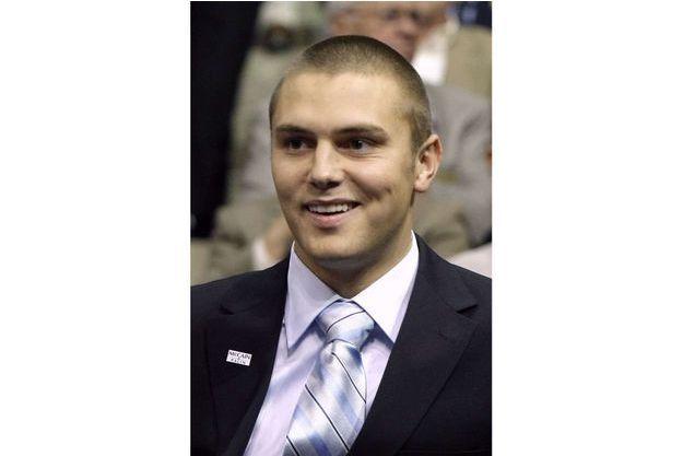 Track Palin, le fils de Sarah Palin, photographié en 2008.