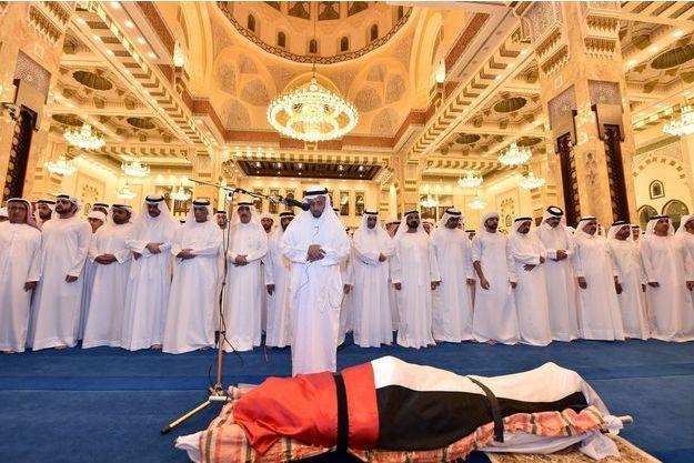 Les funérailles du prince doubaïote ont eu lieu samedi.