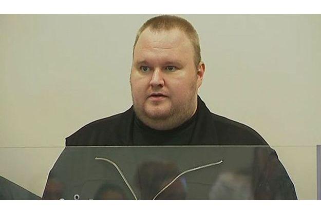 Kim Dotcom a été libéré sous caution par la justice néo-zélandaise.