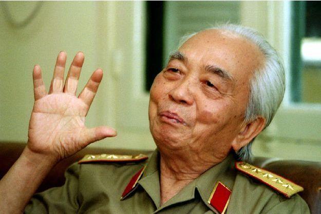 Le général Giap, en 1995.