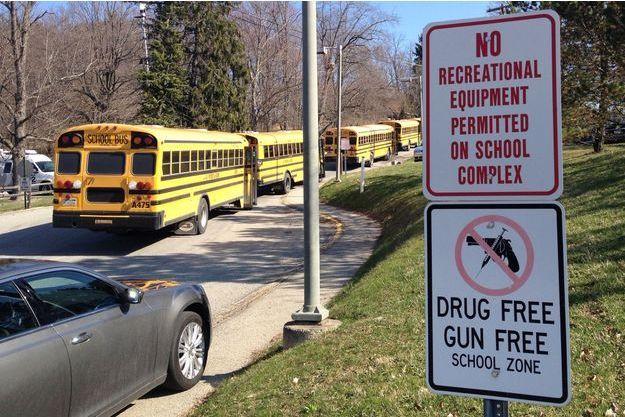 Les élèves ont été évacués