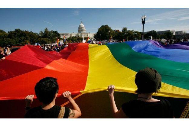 De nombreuses manifestations pour la cause homosexuelle ont été organisées ces derniers mois à Washington.