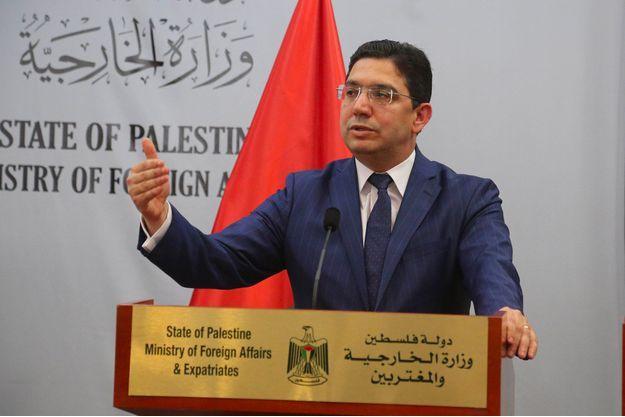 Nasser Bourita, ministre marocain des Affaires étrangères.