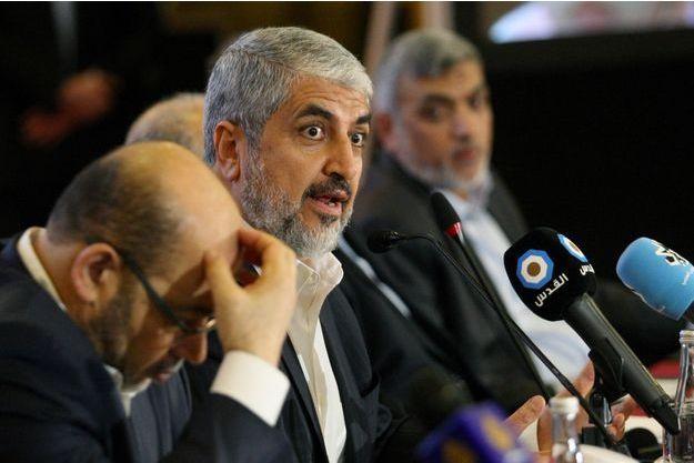 Khaled Mevhaal, le chef du bureau politique du Hamas.