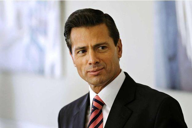 Enrique Peña Nieto, le président mexicain.