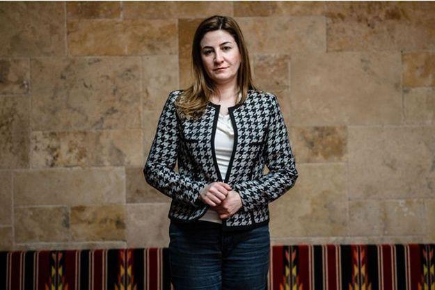 La députée irakienne yézidie, Vian Dakhil.
