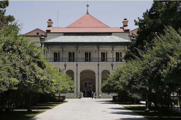 Le palais présidentiel de Kaboul