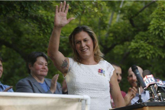 Kristin Beck lors d'un meeting en juin 2014.