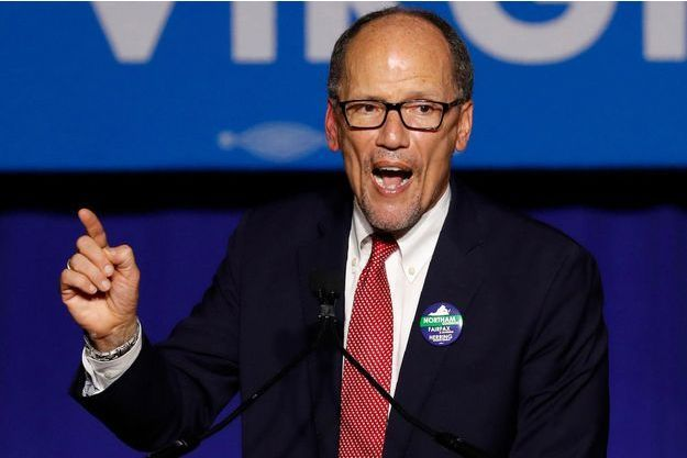 Le patron du comité national démocrate (DNC) Tom Perez, en novembre 2017.