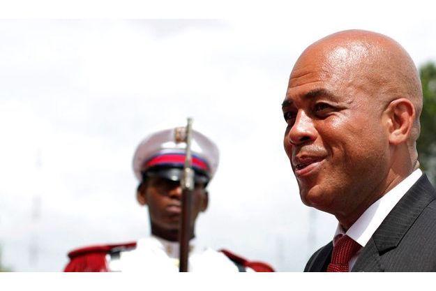 Le président Martelly en visite officielle en chez son voisin de la République dominicaine au début du mois.