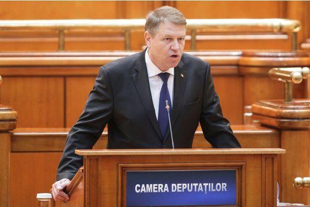 Le président roumain Klaus Iohannis.