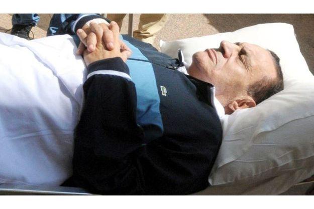 Hosni Moubarak en septembre dernier
